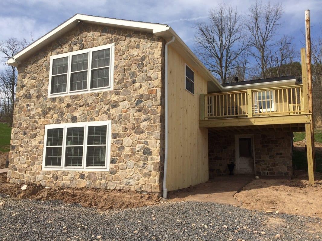 Pioneer Natural Thin Stone Veneer Residential Exterior