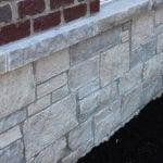 Silver Cloud Thin Stone Veneer Wainscotting