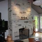 Silverado Thin Stone Veneer Interior Fireplace