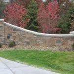 Custom Blend of Kodiak, Mayfair and Charcoal Canyon Natural Stone Veneer