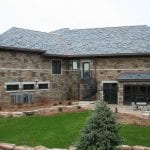 Custom Blend of Kodiak, Mayfair and Charcoal Canyon Thin Stone Veneer