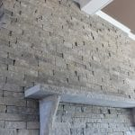 Silver Cloud Custom Ledgestone Style Natural Thin Stone Veneer