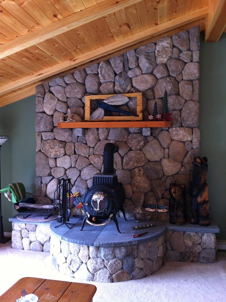 Coastline Natural Stone Veneer Interior Application