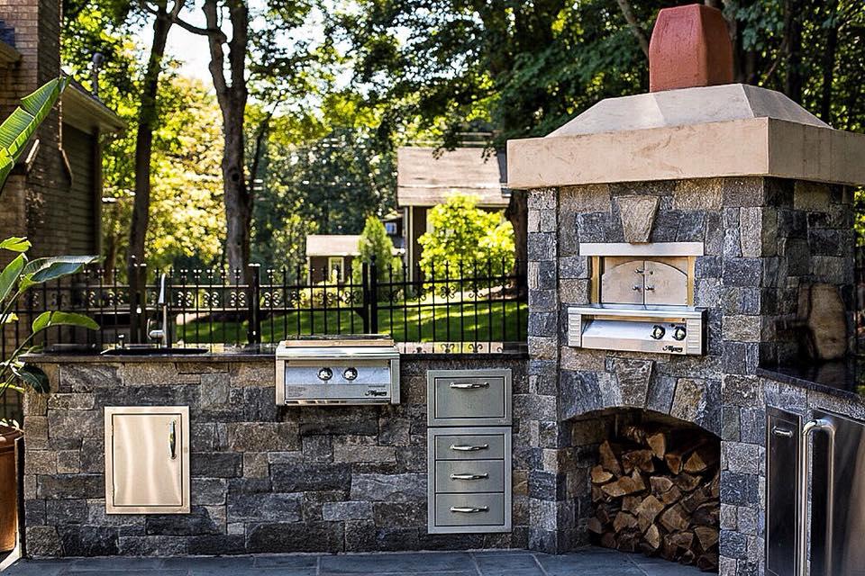 Ellsworth Natural Stone Veneer Outdoor Living