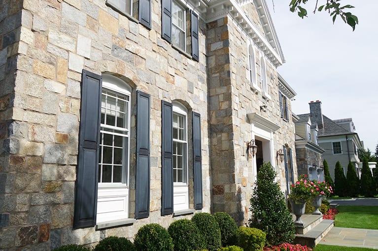 30% Plymouth 30% Gloucester 30% Woodside 10% Nantucket Custom Natural Stone Veneer