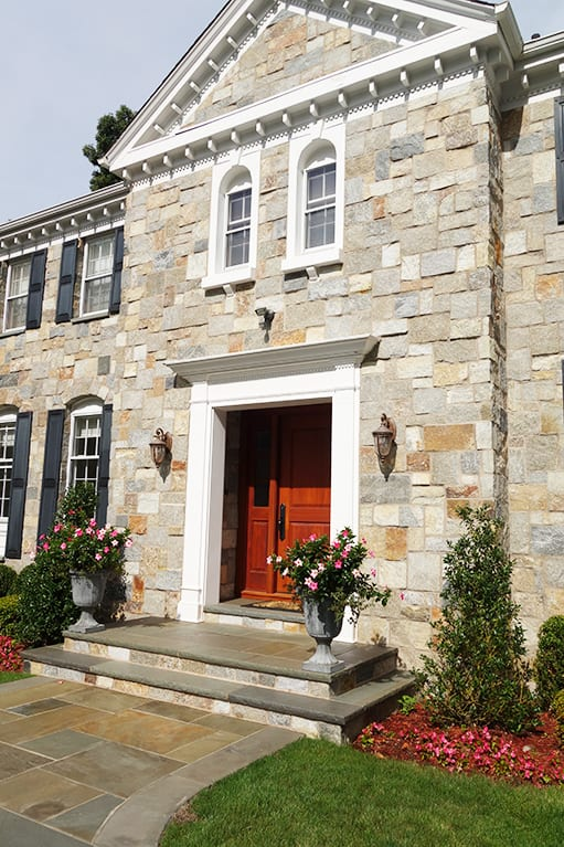 30% Plymouth 30% Gloucester 30% Woodside 10% Nantucket Custom Natural Thin Stone Veneer