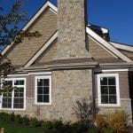 Portland Custom Natural Thin Stone Veneer