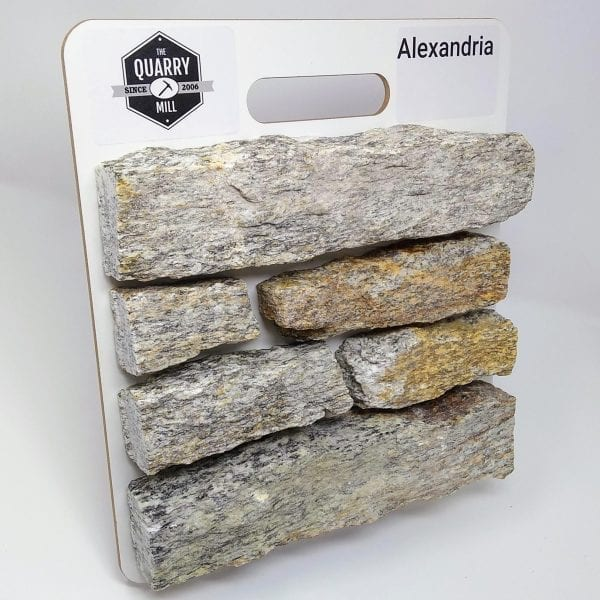 Alexandria Natural Stone Veneer Sample Board