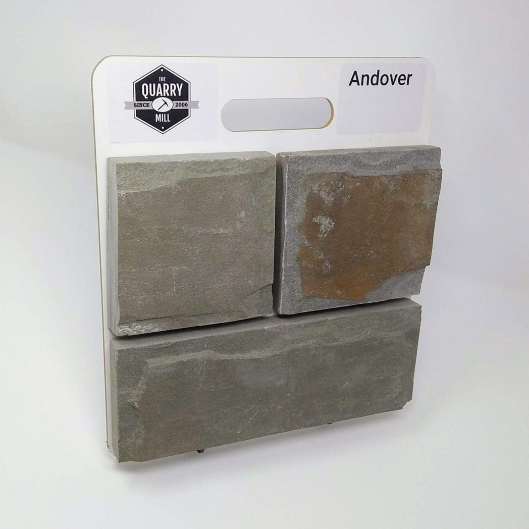 Andover Natural Stone Veneer Sample Board