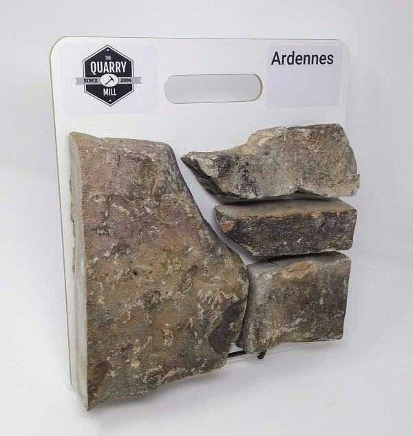 Ardennes Natural Stone Veneer Sample Board