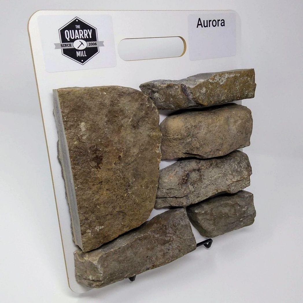 Aurora Natural Stone Veneer Sample Board