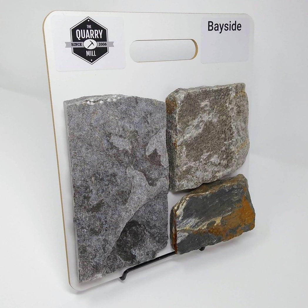 Bayside Natural Stone Veneer Sample Board