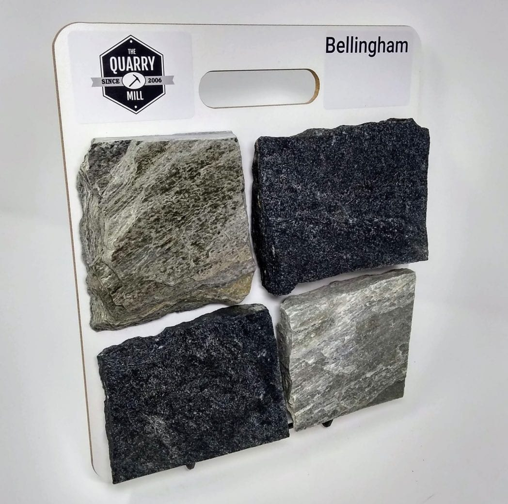 Bellingham Natural Stone Veneer Sample Board