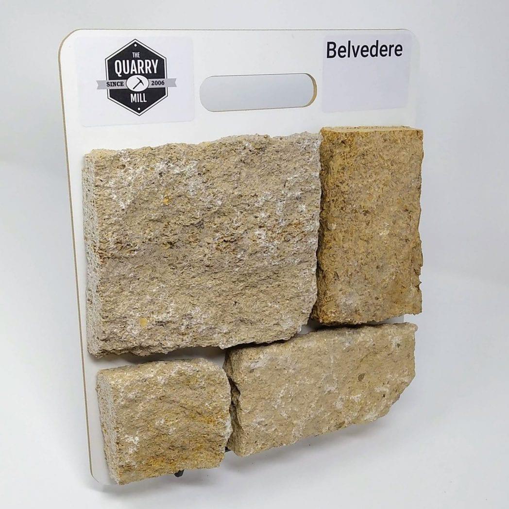 Belvedere Natural Stone Veneer Sample Board