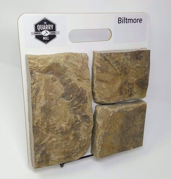 Biltmore Natural Stone Veneer Sample Board