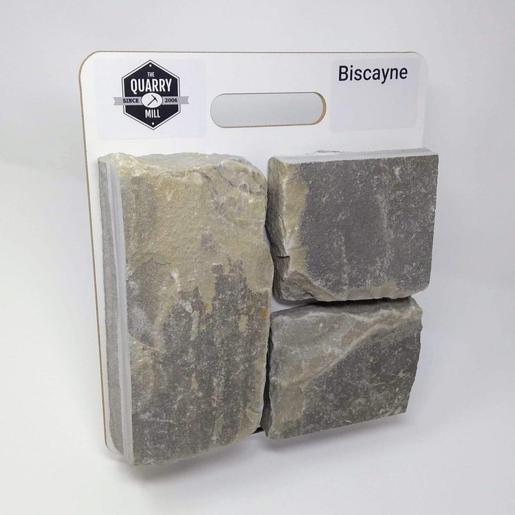 Biscayne Natural Stone Veneer Sample Board