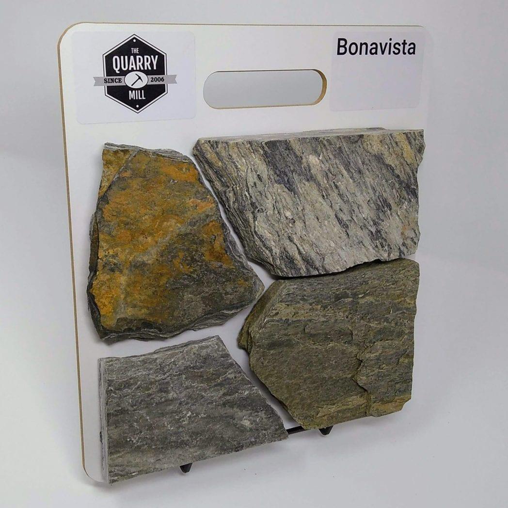 Bonavista Natural Stone Veneer Sample Board