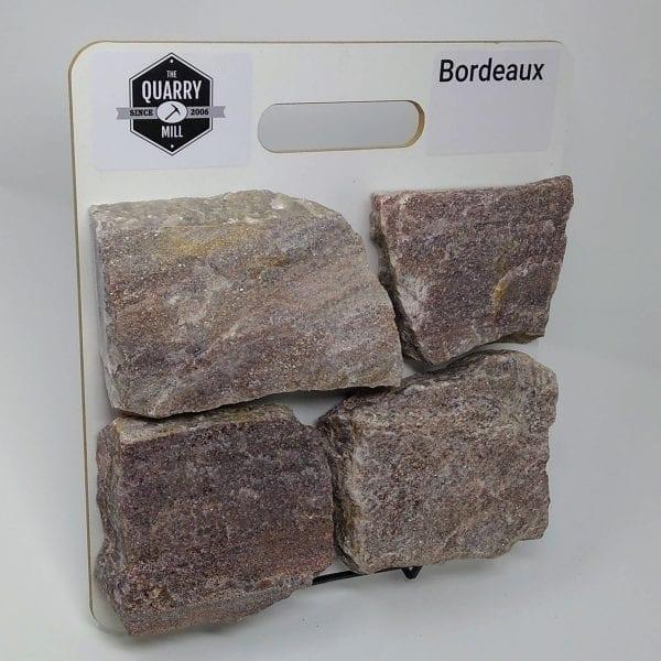 Bordeaux Natural Stone Veneer Sample Board