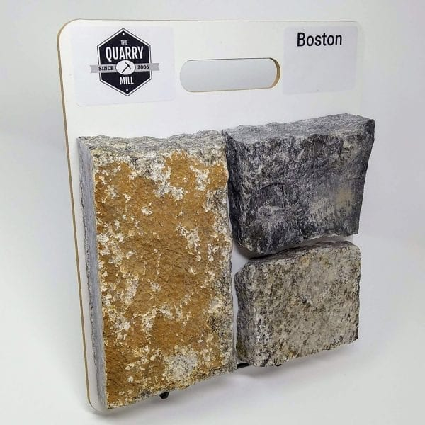 Boston Natural Stone Veneer Sample Board