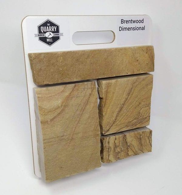 Brentwood Dimensional Natural Stone Veneer Sample Board