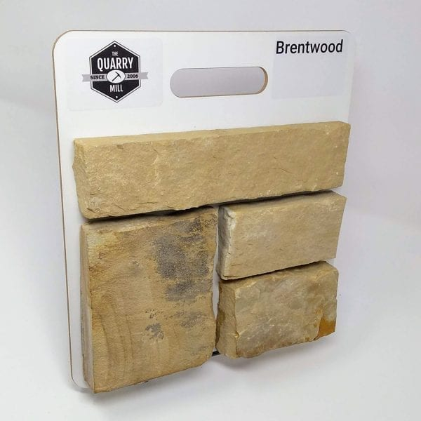 Brentwood Natural Stone Veneer Sample Board
