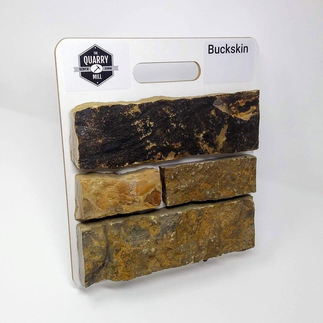 Buckskin Natural Stone Veneer Sample Board