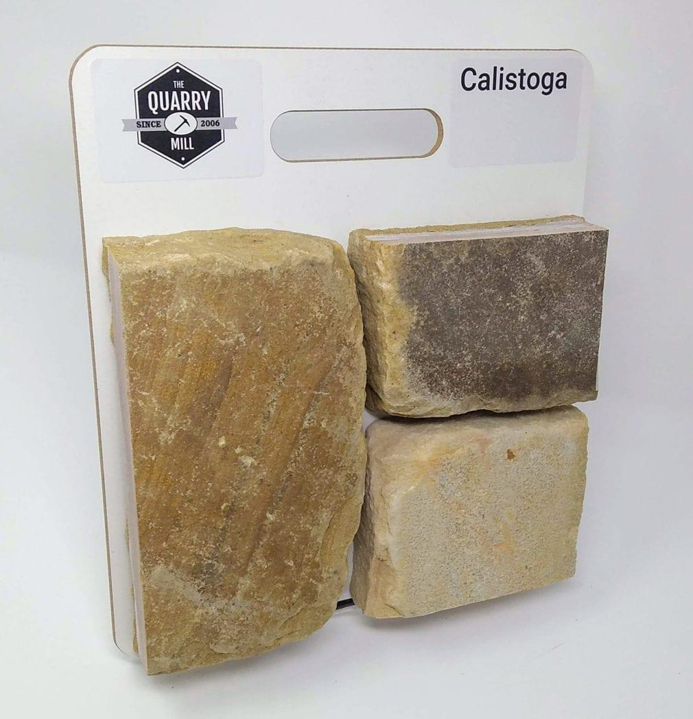 Calistoga Natural Stone Veneer Sample Board
