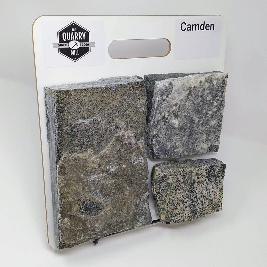 Camden Natural Stone Veneer Sample Board