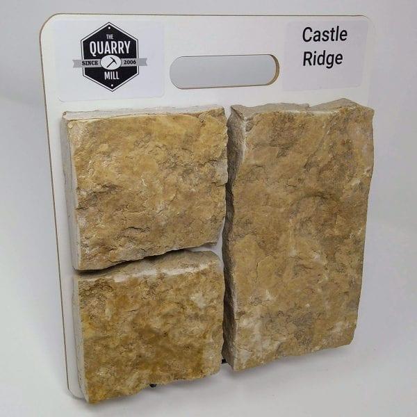 Castle Ridge Natural Stone Veneer Sample Board