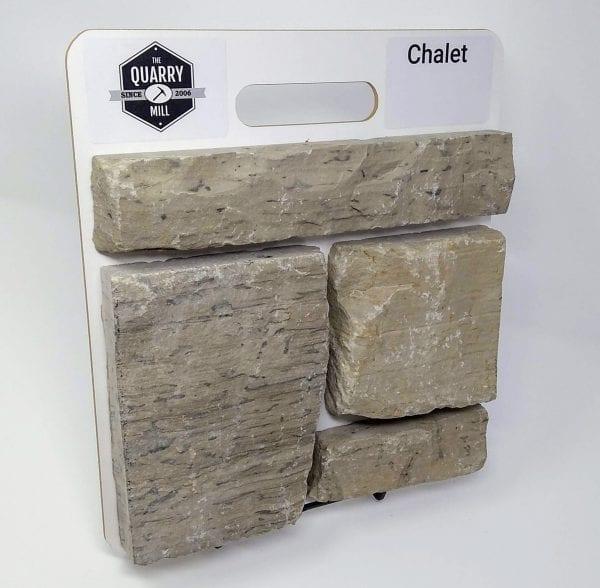 Chalet Natural Stone Veneer Sample Board