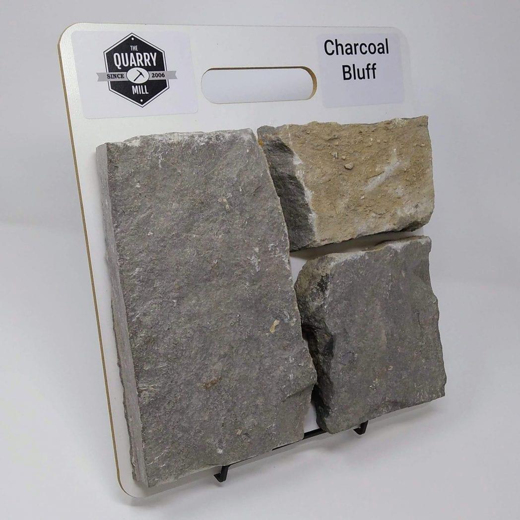 Charcoal Bluff Natural Stone Veneer Sample Board