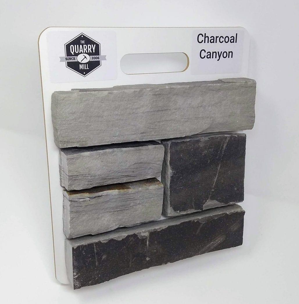Charcoal Canyon Natural Stone Veneer Sample Board