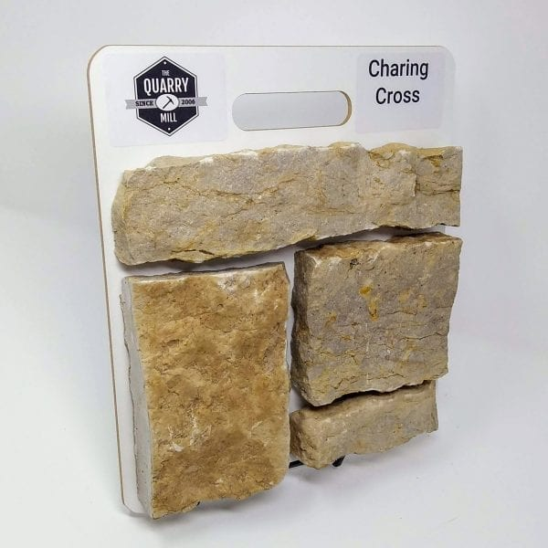 Charing Cross Natural Stone Veneer Sample Board