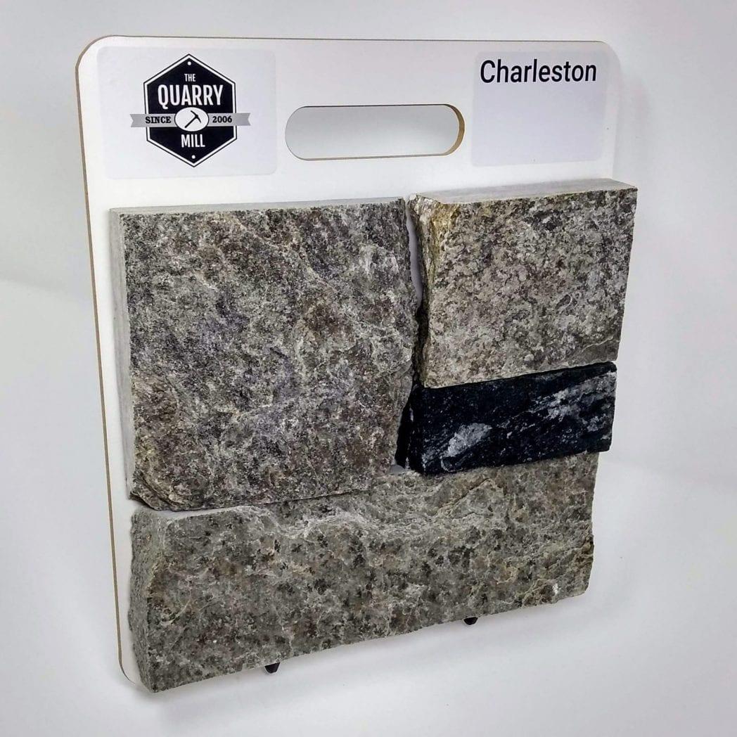 Charleston Natural Stone Veneer Sample Board