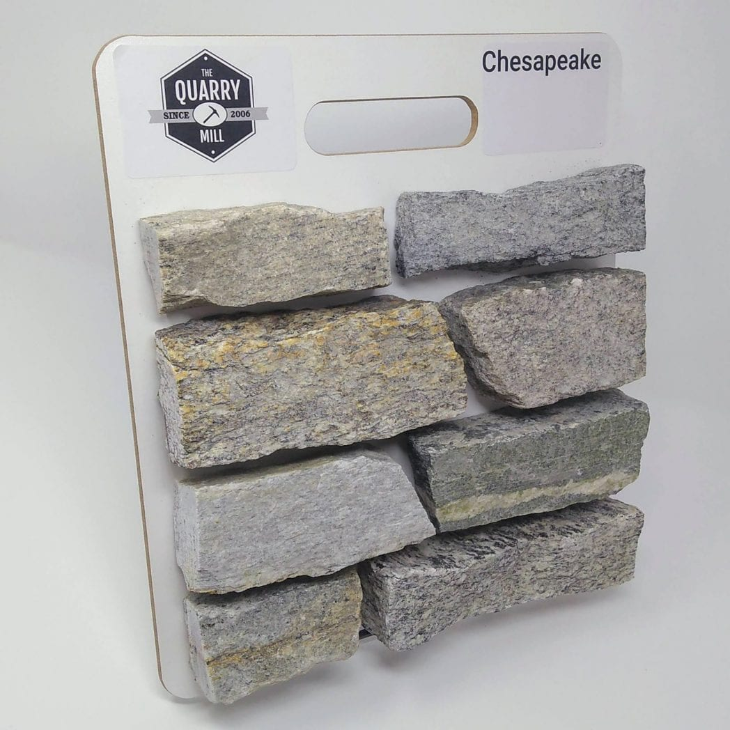 Chesapeake Natural Stone Veneer Sample Board