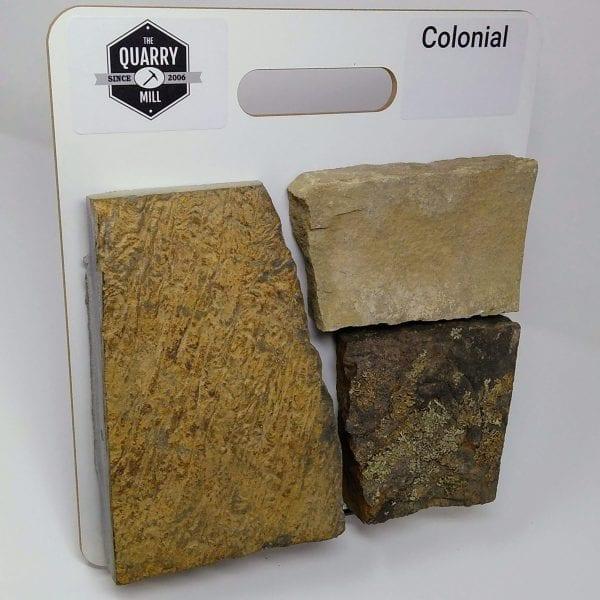 Colonial Natural Stone Veneer Sample Board