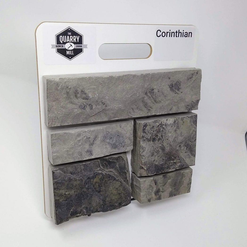 Corinthian Natural Stone Veneer Sample Board