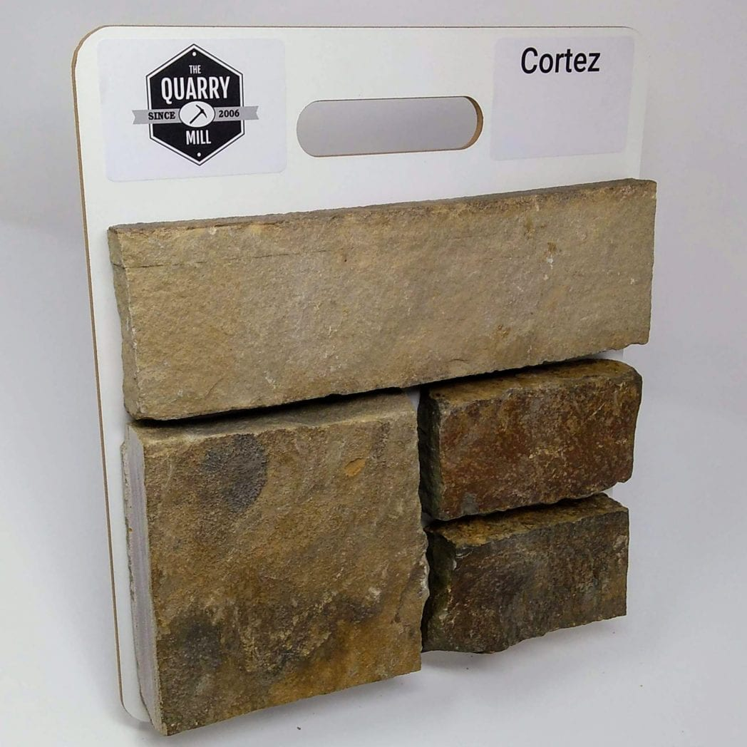 Cortez Natural Stone Veneer Sample Board