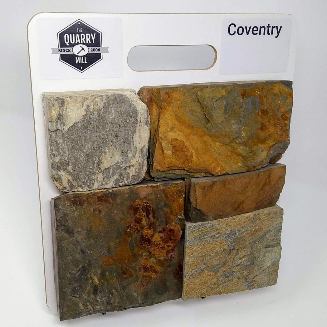 Coventry Natural Stone Veneer Sample Board