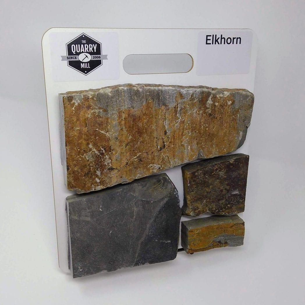 Elkhorn Natural Stone Veneer Sample Board