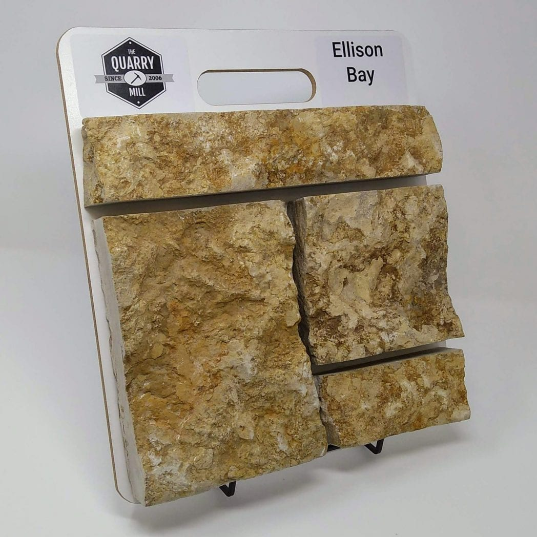 Ellison Bay Natural Stone Veneer Sample Board