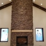 Feldberg Ledgestone Natural Thin Veneer Interior Drystack