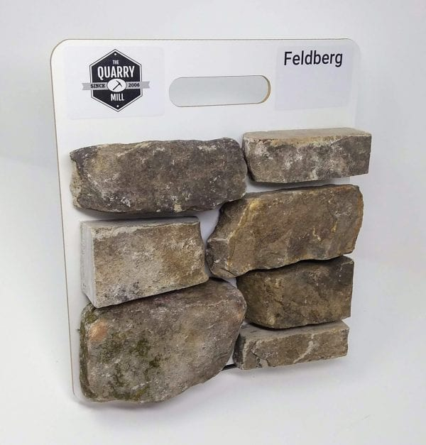 Feldberg Natural Stone Veneer Sample Board