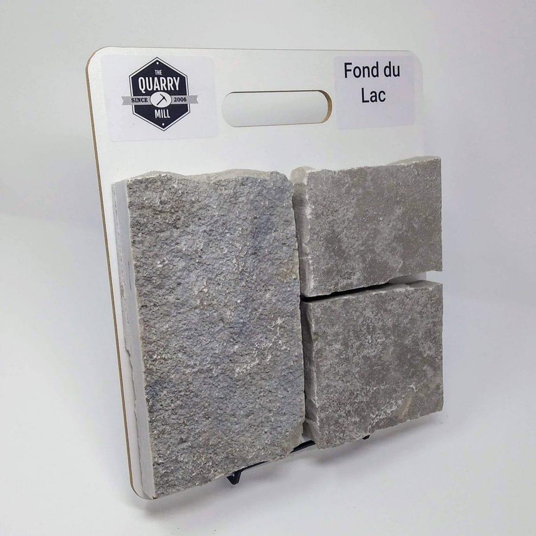 Fond du Lac Natural Stone Veneer Sample Board