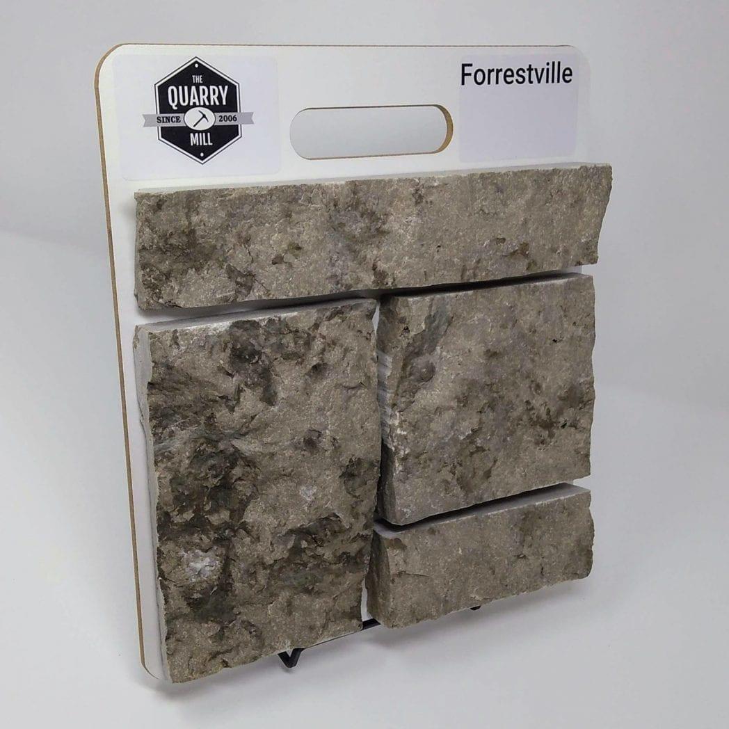 Forrestville Natural Stone Veneer Sample Board