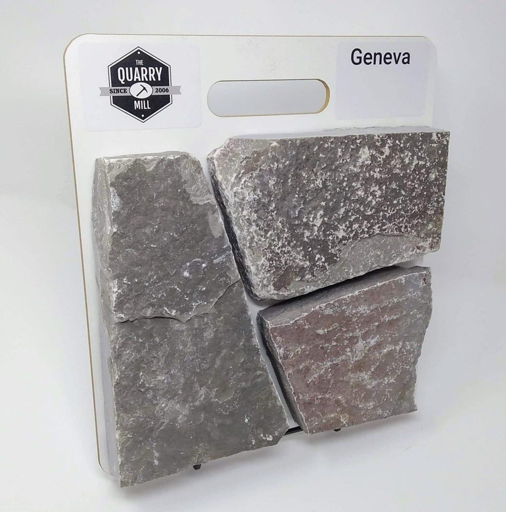 Geneva Natural Stone Veneer Sample Board