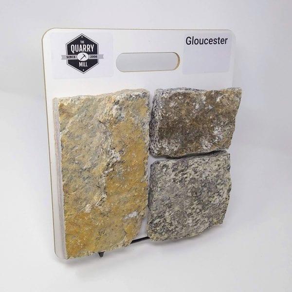 Gloucester Natural Stone Veneer Sample Board