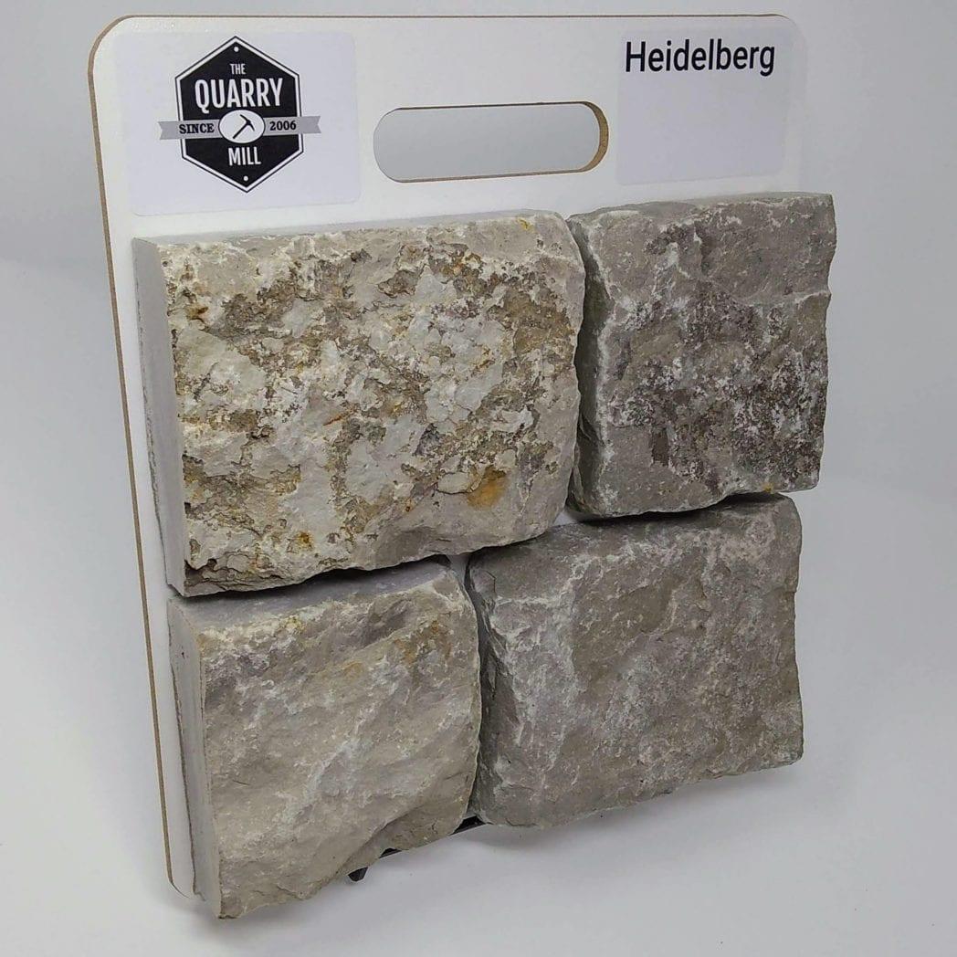 Heidelberg Natural Stone Veneer Sample Board