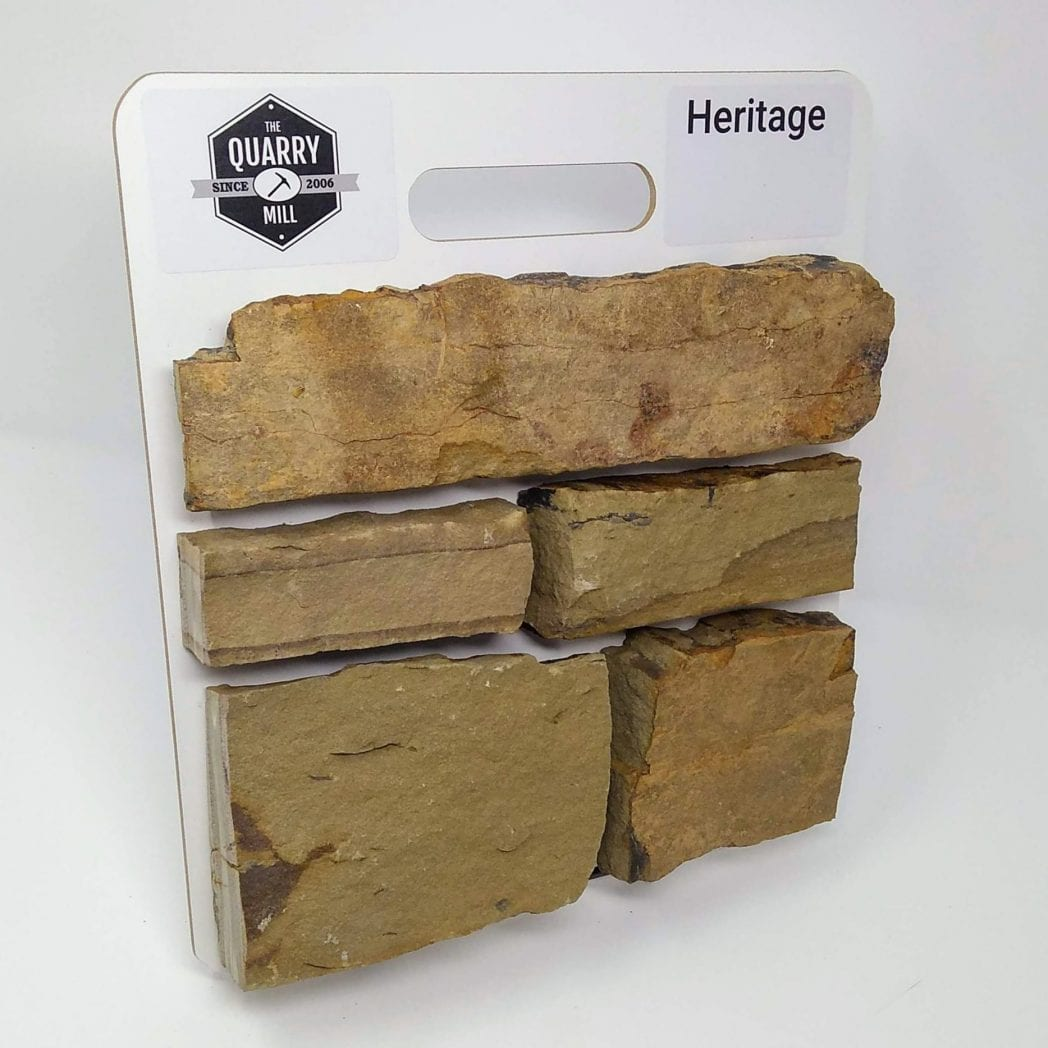 Heritage Natural Stone Veneer Sample Board