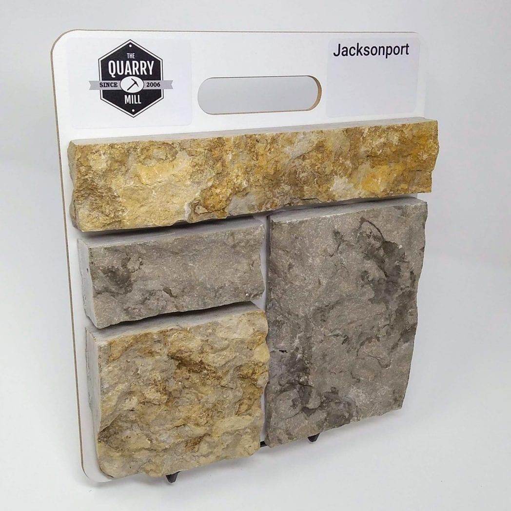 Jacksonport Natural Stone Veneer Sample Board